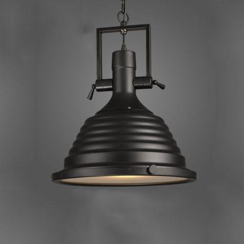 Vintage závesné svietidlo v čiernej farbe 50 x 40 cm - Vintage závesné svietidlo v čiernej farbe, 50 x 40 cm