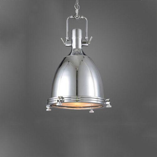 Vintage závesné svietidlo v striebornej farbe 56 x 36 cm - Vintage závesné svietidlo v striebornej farbe, 56 x 36 cm