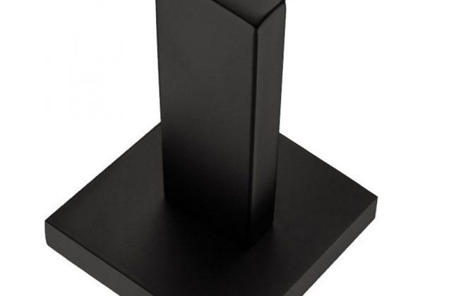 Držiak na toaletný papier s matným čiernym povrchom