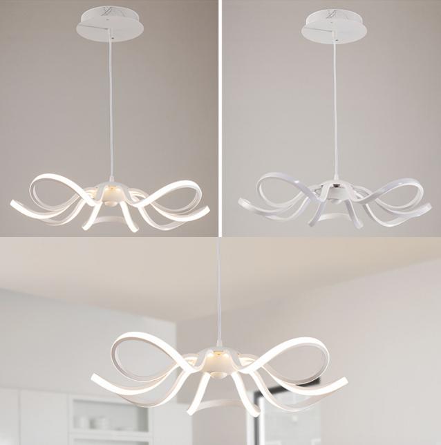 LED Moderné kreatívne závesné svietidlo RIBBON je svietidlo určené na strop v modernom vzhľade4 - LED Moderné kreatívne závesné svietidlo RIBBON