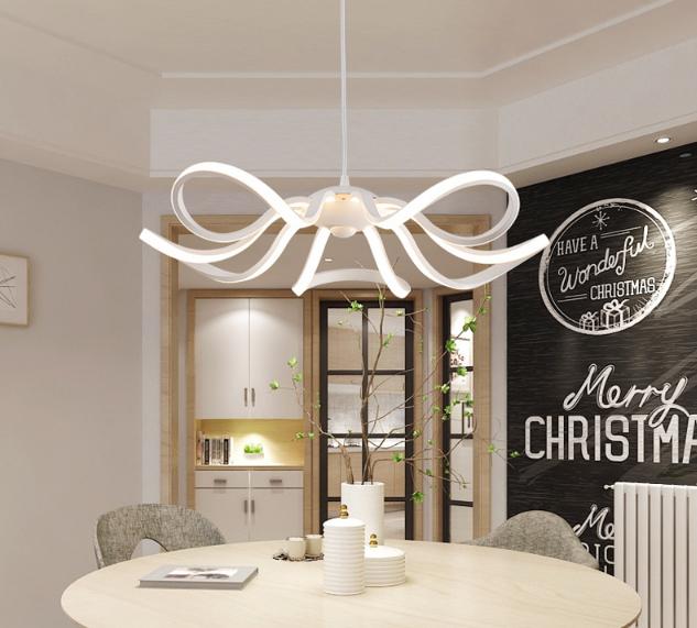 LED Moderné kreatívne závesné svietidlo RIBBON je svietidlo určené na strop v modernom vzhľade5 - LED Moderné kreatívne závesné svietidlo RIBBON