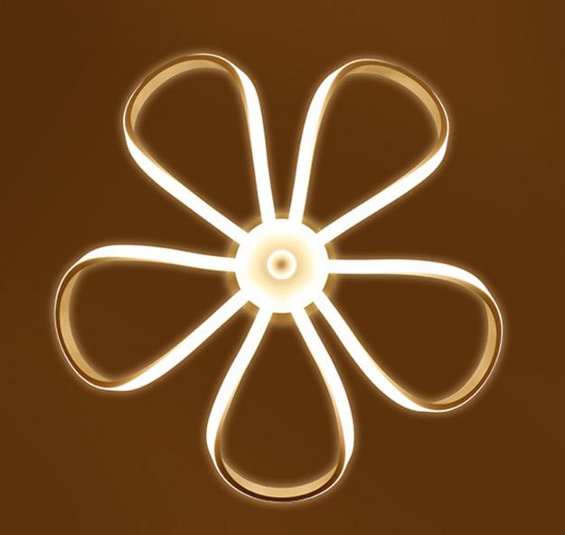 LED Moderné kreatívne závesné svietidlo RIBBON je svietidlo určené na strop v modernom vzhľade7 - LED Moderné kreatívne závesné svietidlo RIBBON