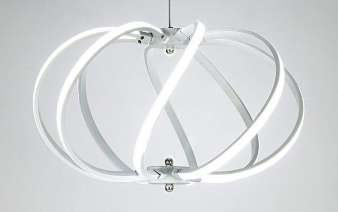 LED Moderné kreatívne závesné svietidlo SPIRAL Biela 1 670x420 - LED Moderné kreatívne závesné svietidlo SPIRAL, Biela