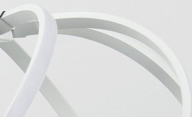 LED Moderné kreatívne závesné svietidlo SPIRAL Biela 3 670x410 - LED Moderné kreatívne závesné svietidlo SPIRAL, Biela