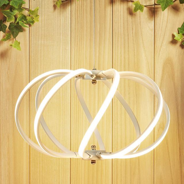 LED Moderné kreatívne závesné svietidlo SPIRAL1 - LED Moderné kreatívne závesné svietidlo SPIRAL, Teplá biela