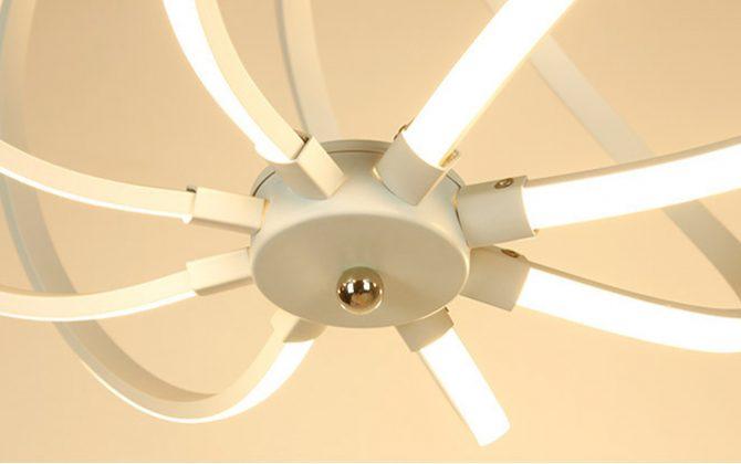 LED Moderné kreatívne závesné svietidlo SPIRAL5 670x420 - LED Moderné kreatívne závesné svietidlo SPIRAL, Teplá biela