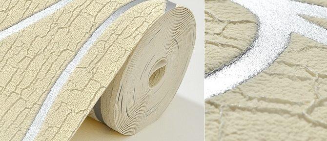 Luxusná 3D semišová tapeta na stenu v béžovo striebornej farbe 1 1 670x289 - Luxusná 3D semišová tapeta na stenu v béžovo-striebornej farbe