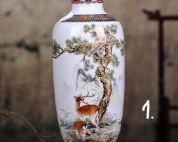Elegantná keramická váza 1