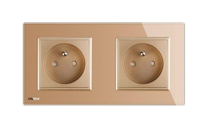 Luxusná dvojzásuvka s ochranným kolíkom v zlatej farbe 4 670x420 - Luxusná dvojzásuvka s ochranným kolíkom v zlatej farbe