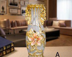 Luxusná vintage porcelánová kvetinová váza A