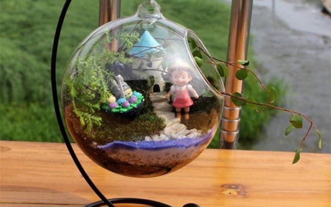 Transparentná sklenená guľôčková váza so stojanom. 2 670x420 - Transparentná sklenená guľôčková váza so stojanom