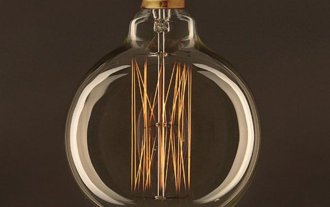 EDISON žiarovka GLOBUS E27 30W 60lm 1 670x420 - EDISON žiarovka - GLOBUS - E27, 30W, 60lm