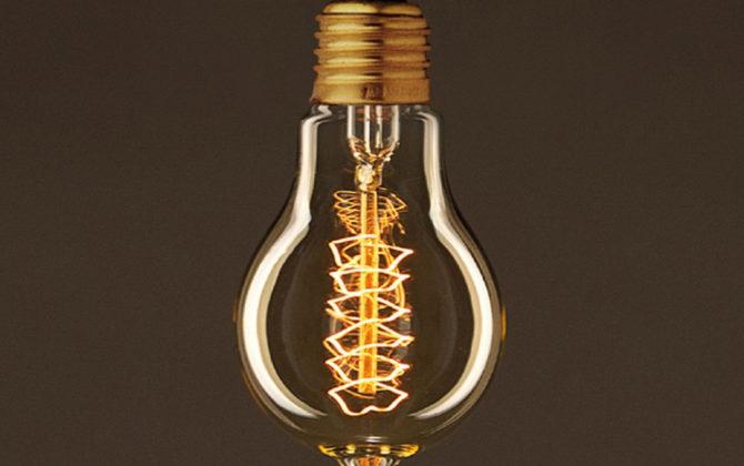 EDISON žiarovka SPIRAL B E27 30W. Ideálna pre salóniky 2 670x420 - EDISON žiarovka - SPIRAL B - E27, 30W, 60lm