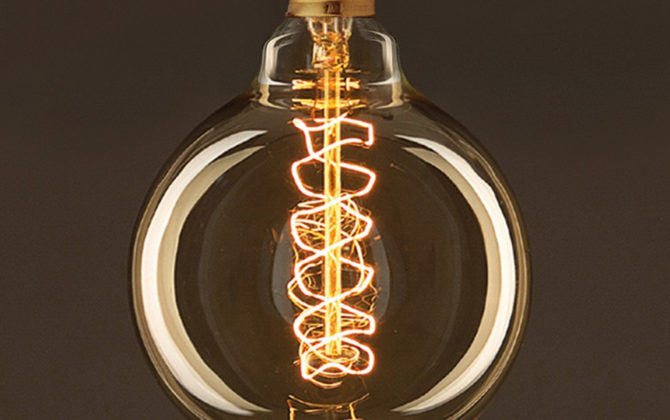 EDISON žiarovka SPIRAL GLOBUS E27 30W 60lm 1 670x420 - EDISON žiarovka - SPIRAL GLOBUS - E27, 30W, 60lm