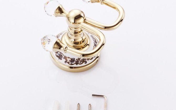 Moderný vešiak s kryštáľom do kúpeľne v zlatej farbe 1 670x420 - Moderný vešiak s kryštáľom do kúpeľne v zlatej farbe