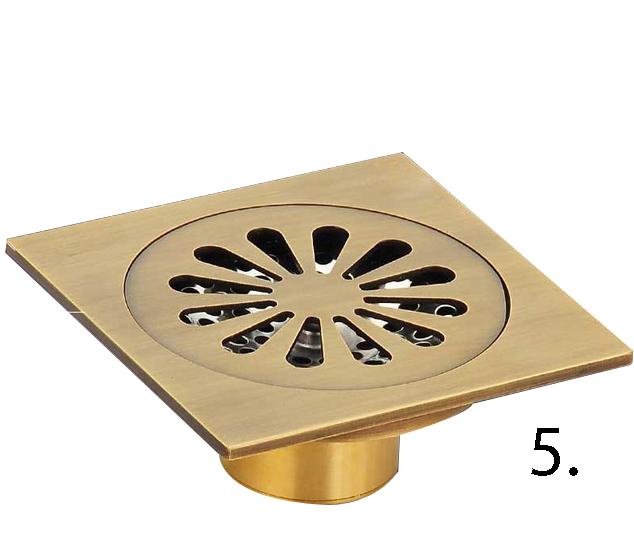 Elegantná podlahová vpusť do kúpeľne 5 - Elegantná podlahová vpusť do kúpeľne v rôznych prevedeniach