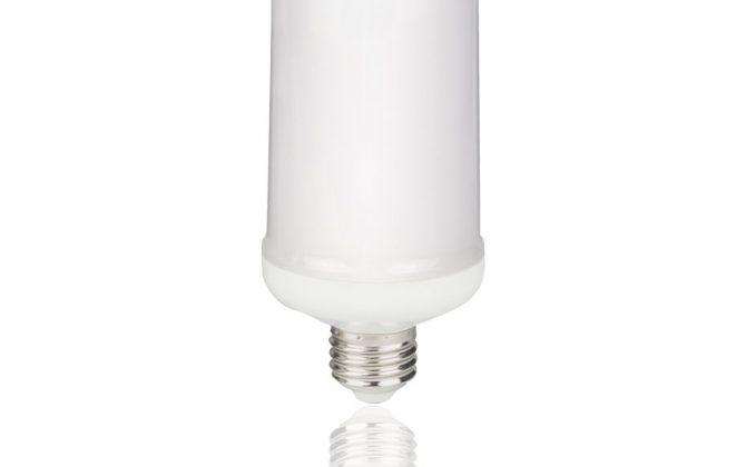 LED žiarovka s efektom plameňa E27 5W Teplá biela 2 670x420 - LED žiarovka s efektom plameňa, E27, 5W, Teplá biela