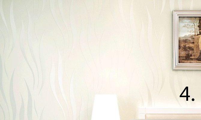 Moderná reliéfna tapeta na stenu krem 670x399 - Moderná reliéfna tapeta na stenu v rôznych farebných prevedeniach