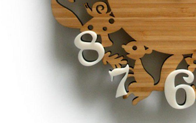 Nádherné drevené nástenné hodiny so zvieratkami z lesa 1 670x420 - Nádherné drevené nástenné hodiny so zvieratkami z lesa
