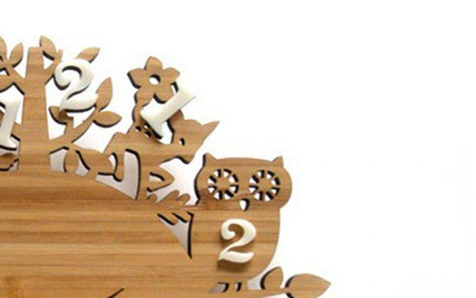 Nádherné drevené nástenné hodiny so zvieratkami z lesa. 1 670x420 - Nádherné drevené nástenné hodiny so zvieratkami z lesa