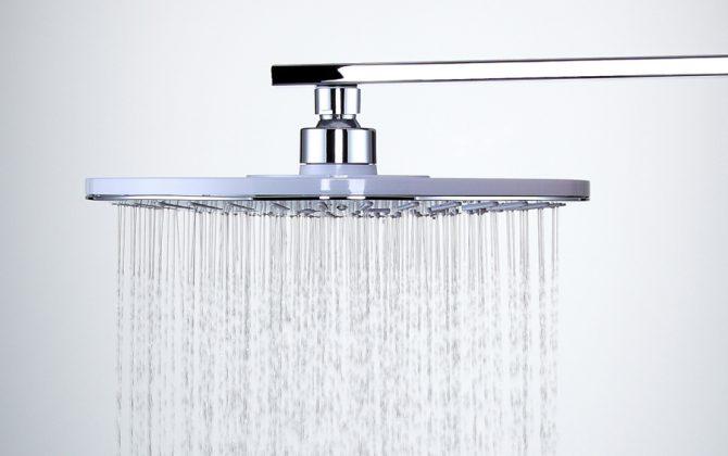 Kvalitná pochrómovaná hlavová sprcha - 25 x 25 cm