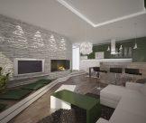 Dizajn a návrh interiéru bytu vo vila dome, Bratislava
