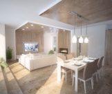 Interiérový dizajn mezonetového bytu, Záhorská bystrica