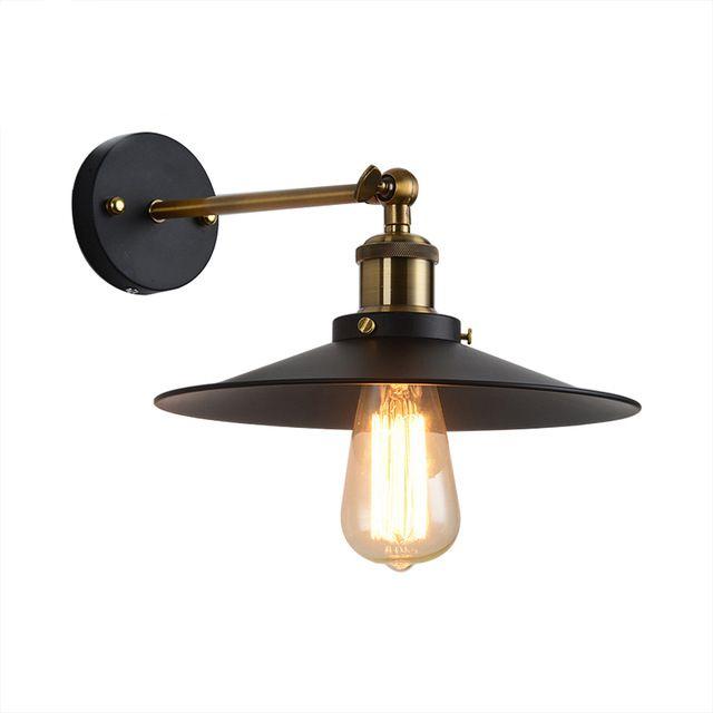 Historické nástenné svietidlo s tmavým tienidlom - Historické nástenné svietidlo s tmavým tienidlom