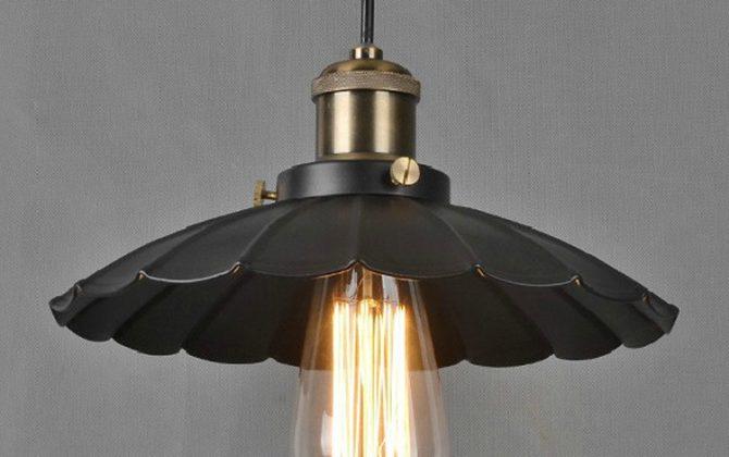 Historické závesné svietidlo Lotus 25 cm 3 670x420 - Historické závesné svietidlo Lotus, 34cm