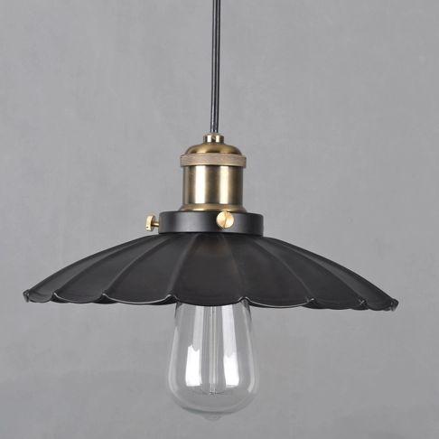 Interiérové závesné a stropné svietidlá s historickým nádychom v originálnom starodávnom prevedení2 - Historické závesné svietidlo Lotus, 34cm