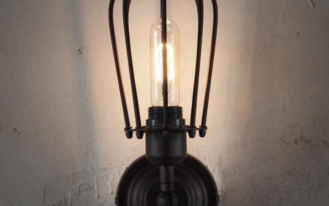 Svietidlo je vhodné do obývacej izby kuchyne jedálne spálne reštaurácie a pod22 670x420 - Historické nástenné svietidlo s okrúhlou klietkou