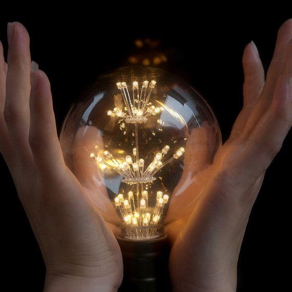 Vďaka svojej dekoračnej žiare vyžaruje rustikálne kúzlo ako žiadna iná žiarovka2 - FIREWORKS žiarovka - GLOBUS - E27, 3W, 200lm