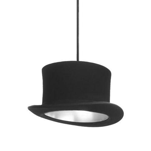 Kreatívne závesné svietidlo Wooster v striebornej farbe je ručne vyrobené svietidlo v tvare klobúka je lemované vnútorným pláštom v odrážajúcej farbe12 - Kreatívne závesné svietidlo Wooster v striebornej farbe