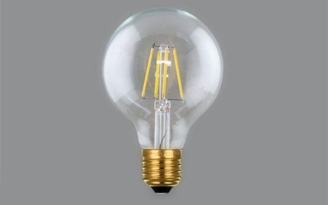 FILAMENT žiarovka – SHINES – E27 4W 450lm2 670x420 - FILAMENT žiarovka - SHINES - E27, 4W, 450lm
