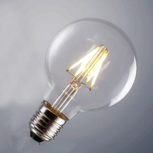 FILAMENT žiarovka SHINES je žiarovka z retro kolekcie FILAMENT v tvare gule z minulého storočia2 - FILAMENT žiarovka - SHINES - E27, 4W, 450lm