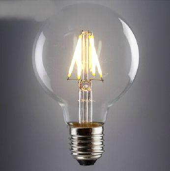Kolekcia FILAMENT obsahuje LED filament ktorý sa používa v nových LED žiarovkách a je približne 4cm dlhý sklenený alebo zafírový pásik2 - FILAMENT žiarovka - SHINES - E27, 4W, 450lm