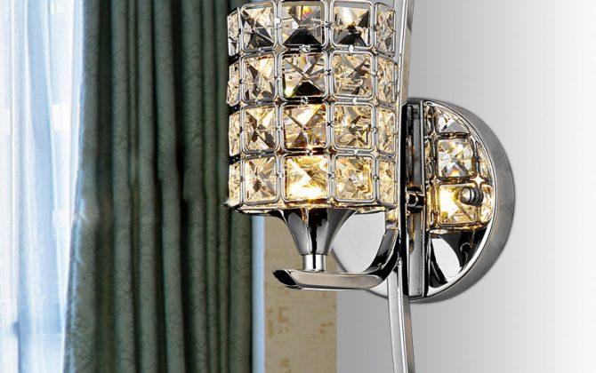 Hodia sa ako dekoračné doplnky do domácnosti ku kuchynskému stolu nad pult do kuchyne alebo do spálne hotela reštaurácie ako dekoračný doplnok21 670x420 - Moderné nástenné svietidlo v luxusnom dizajne v striebornej farbe