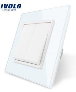 Luxusné mechanické vypínače v bielom alebo čiernom prevedení