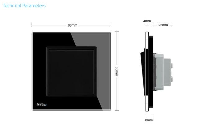 Luxusný mechanický vypínač 3 670x420 - Luxusný schodiskový vypínač č.6 v čiernom prevedení