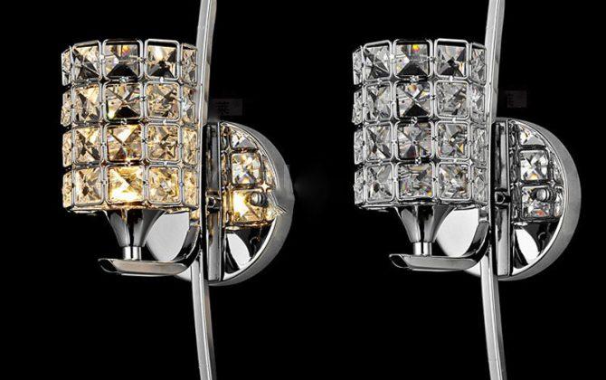 Moderné nástenné svietidlo v luxusnom dizajne 1 670x420 - Moderné nástenné svietidlo v luxusnom dizajne v striebornej farbe