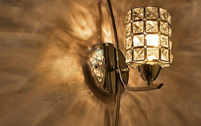 Moderné nástenné svietidlo v luxusnom dizajne v striebornej farbe na žiarovky typu E141 670x420 - Moderné nástenné svietidlo v luxusnom dizajne v striebornej farbe