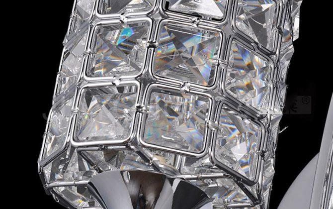 Moderné nástenné svietidlo v luxusnom dizajne v striebornej farbe. Ak chcete žiť štýlovo potom je toto moderné svietidlo práve pre Vás1 670x420 - Moderné nástenné svietidlo v luxusnom dizajne v striebornej farbe