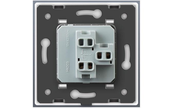 Vypínače sa vyznačujú dlhou životnosťou otrasuvzdornosťou farebnou stálosťou pevnosťou povrchových úprav a lesklosťou skleneného povrchu 5 670x420 - Luxusný mechanický vypínač č.1 v bielom prevedení