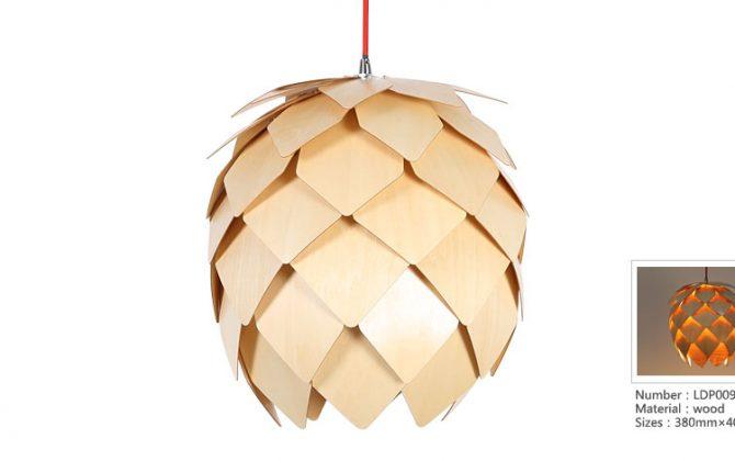 Originálne závesné drevené svietidlo z kolekcie iWood PINECONE 670x420 - Originálne závesné drevené svietidlo z kolekcie iWood - PINECONE