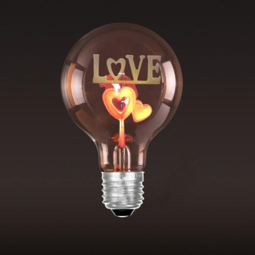 Dekoračná žiarovka SHINES Love - Dekoračná žiarovka - SHINES - Love