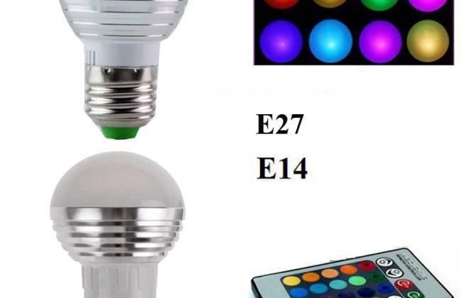 LED RGB žiarovka na diaľkové ovládanie 16 funkcií 5W6 670x420 - LED RGB žiarovka na diaľkové ovládanie, 16 funkcií, 5W