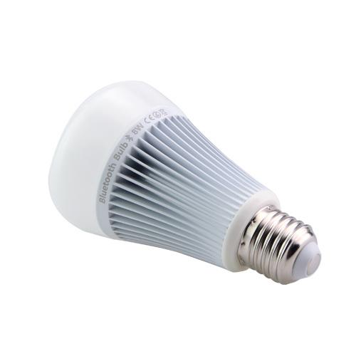 RGB LED žiarovka s bezdrôtovým reproduktorom 8W 550lm17 - RGB LED žiarovka s efektami, 8W, 550lm