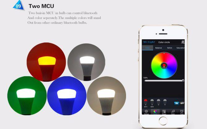 RGB LED žiarovka s bezdrôtovým reproduktorom 8W 550lm22 670x420 - RGB LED žiarovka s efektami, 8W, 550lm
