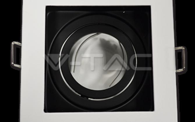 Rámik hranatý výklopný biely V TAC2 670x420 - Rámik hranatý výklopný biely, V-TAC