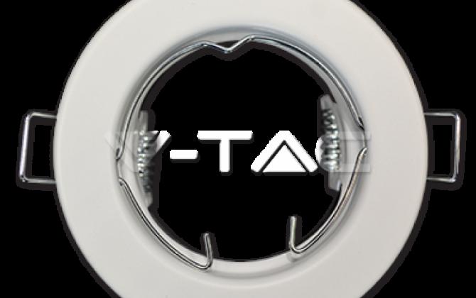 Rámik okrúhly nevýklopný biely 2 kusy V TAC  670x420 - Rámik okrúhly nevýklopný biely - 2 kusy, V-TAC